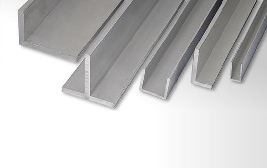 Profili estrusi e laminati in lega di alluminio per l - Finestre alluminio anodizzato ...
